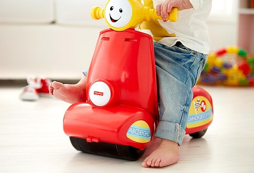 Fisher Price обучающий скутер с технологией SMART STAGES  Laugh & Learn Scooter
