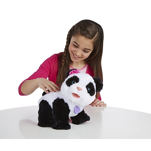 FurReal Friends Панда интерактивная игрушка Малыш Pom-Pom, Hasbro