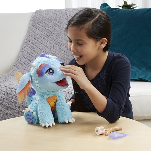 FurReal Friends Hasbro Милый Дракончик Torch My Blazin' Dragon
