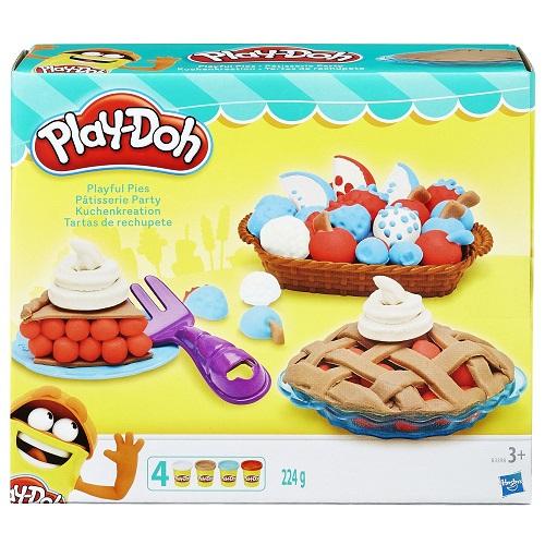 Play Doh набор пластилина Ягодный Пирог Плей До Playful Pies Set