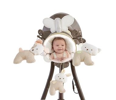 Fisher-Price колыбель-качели люкс класса Мой Маленький Щенок  My Little Snugapuppy