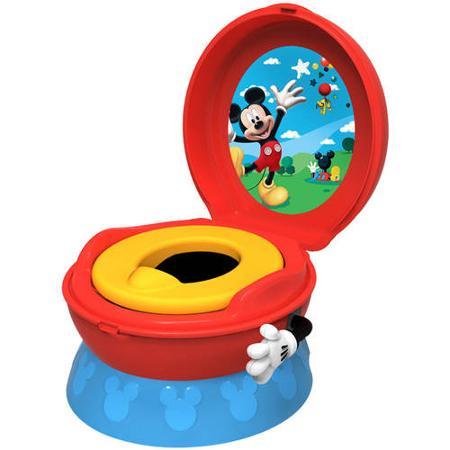 Музыкальный горшок Дисней 3 в 1 Микки Маус Disney The First Years 3-In-1 Potty System