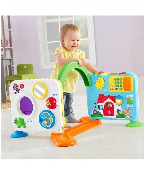 Большой Обучающий Дом Fisher Price Laugh & Learn Crawl-Around Learning Cente