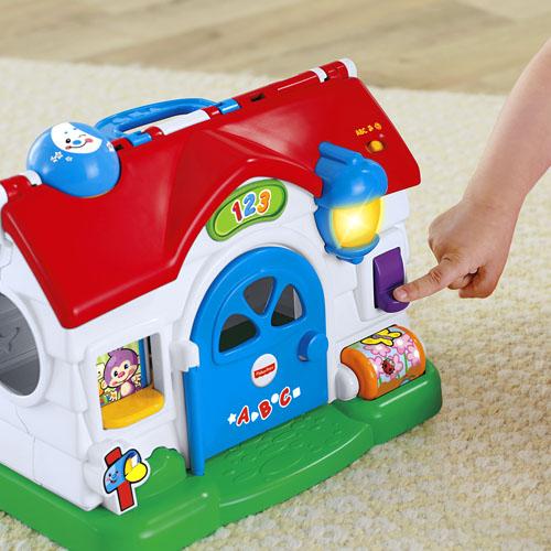 Детская развивающая игрушка «Обучающий домик щенка» Fisher-Price Laugh & Learn Puppy´s Activity Home
