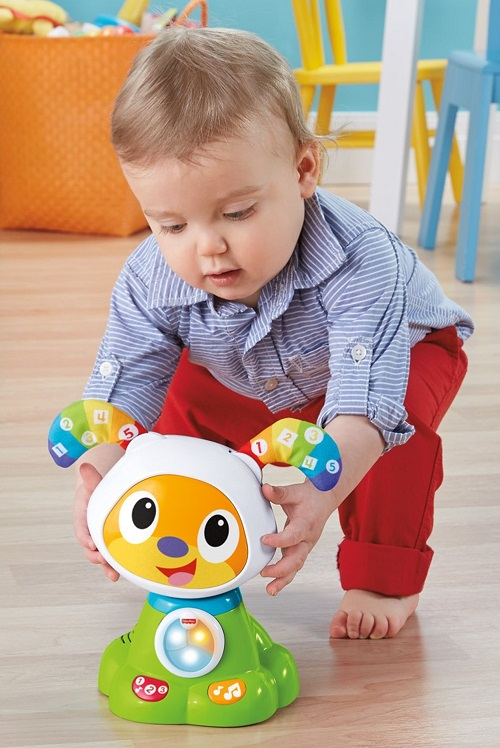 Интерактивная игрушка Фишер Прайс - Щенок робота Бибо Fisher-Price Dance & Move BeatBowWow
