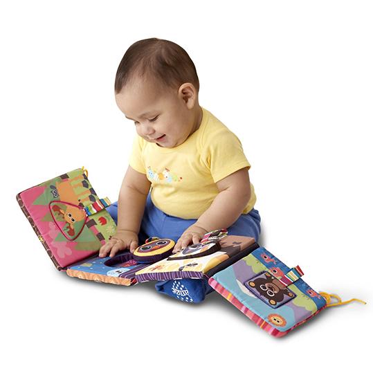 "Развивающая игрушка ""Книжечка-пазл"" Lamaze"