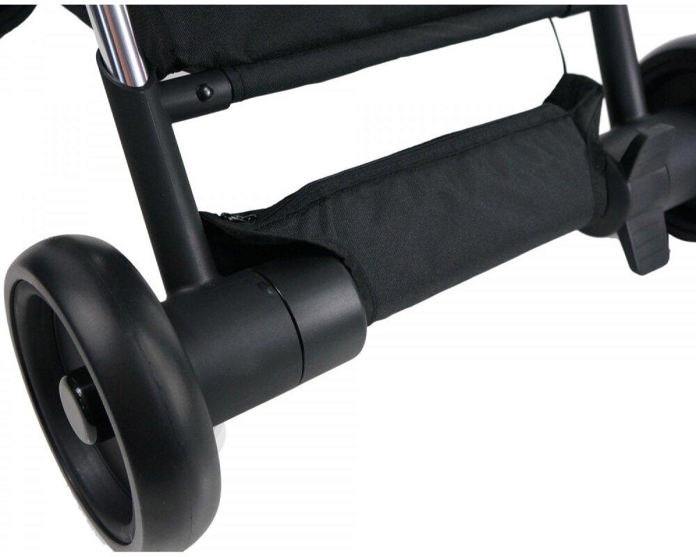 Коляска прогулочная Ibebe i-stop Mini Mi1 black
