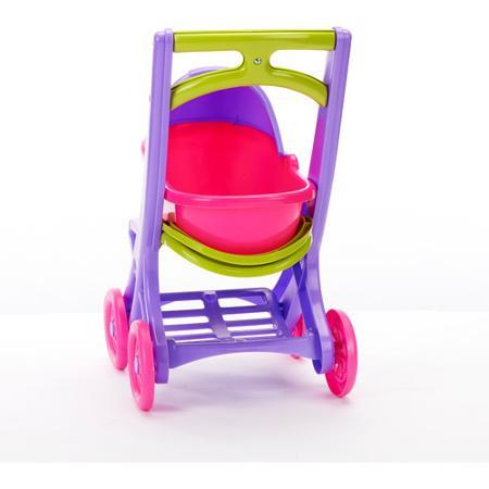 Коляска для куклы 3 в 1 American Plastic Toy On the Go Stroller