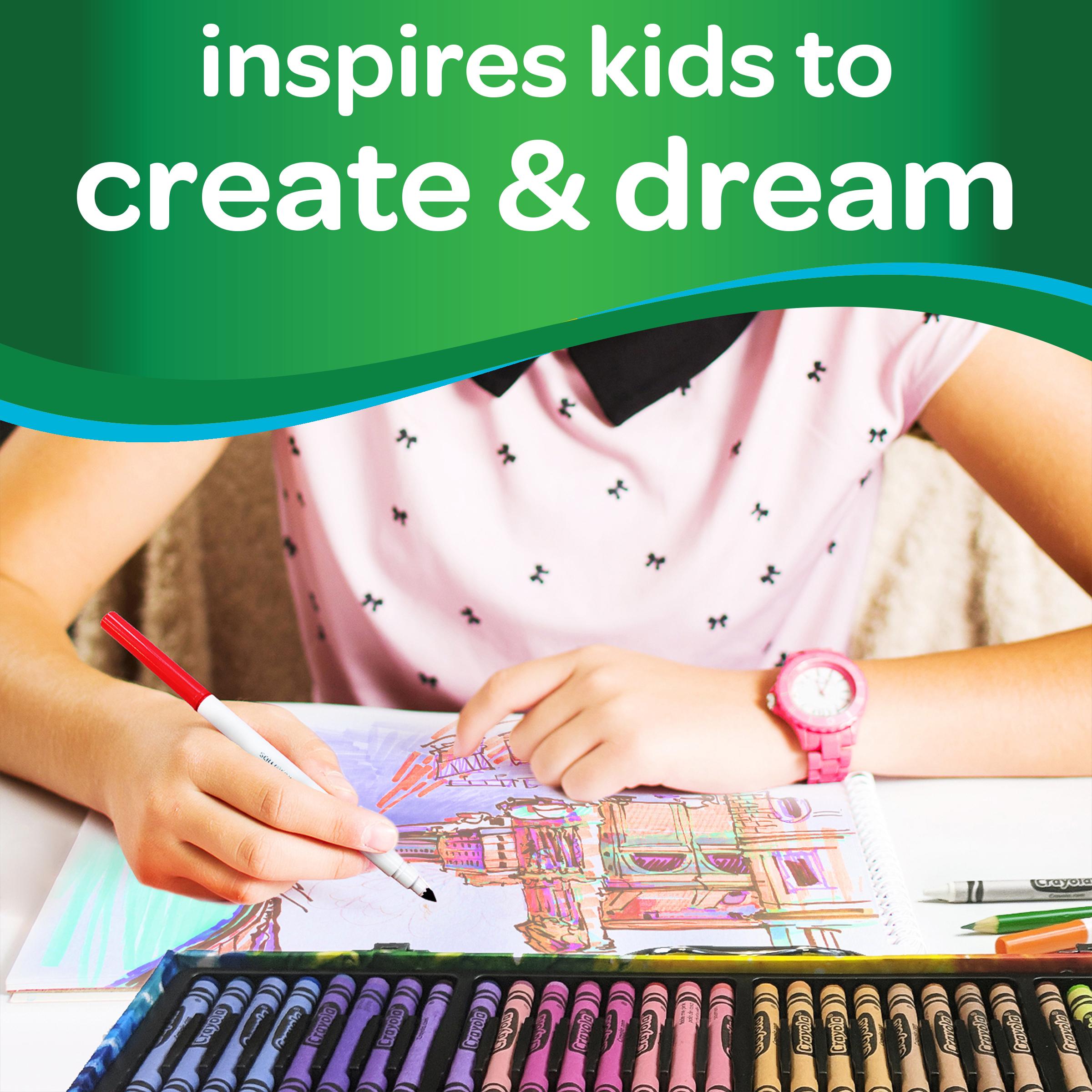 Большой набор для рисования Crayola кейс на 140 предметов