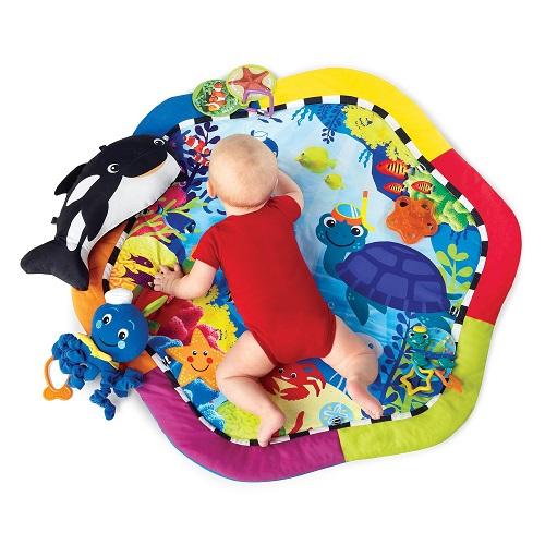 Детский развивающий коврик «Нептун» Baby Einstein Neptune Ocean Play gym