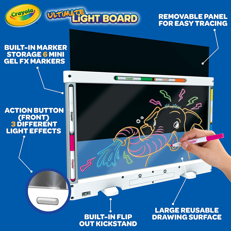 Детский планшет Crayola - светящаяся доска для рисования Ultimate Light Board