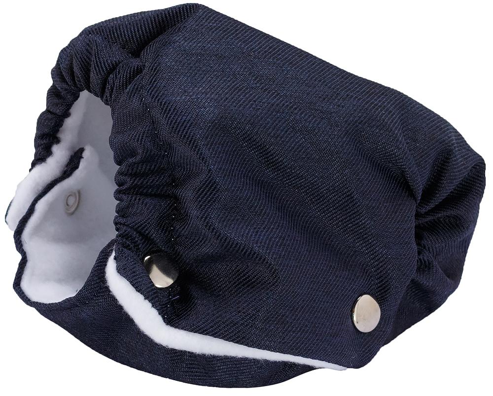 Коляска 2 в 1 Adamex Luciano jeans Q203 синий (зигзаг)