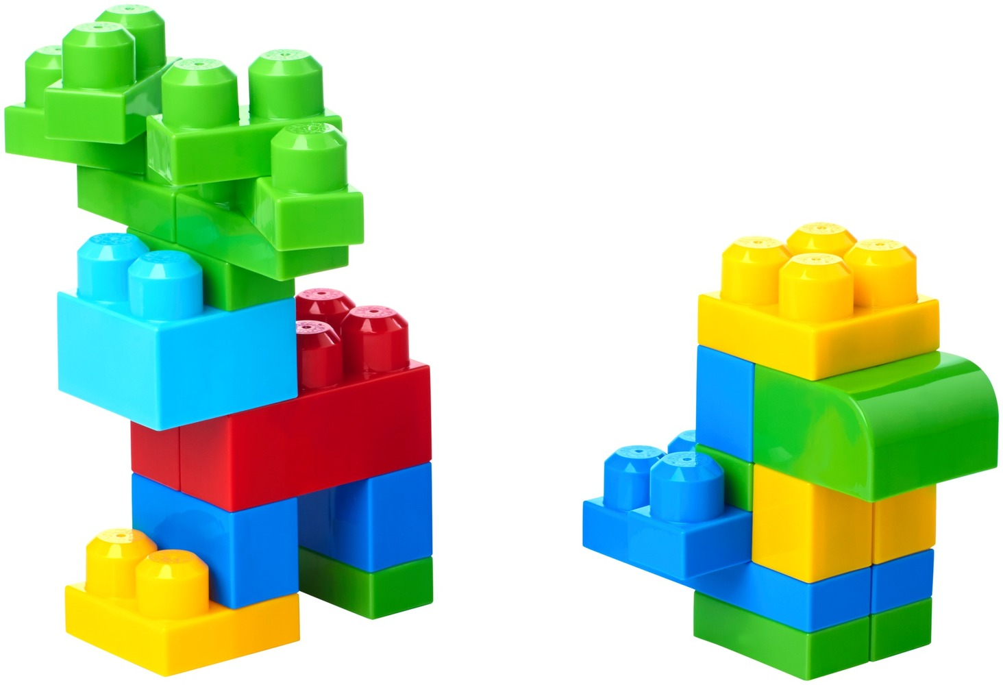 Конструктор классический в мешке (60 дет.) Mega Bloks