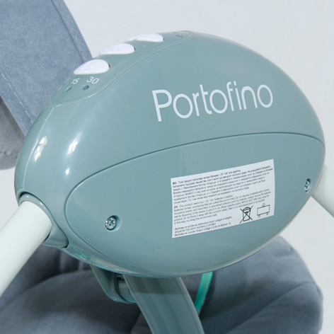 Детские качели Lorelli электронный укачивающий центр Portofino Grey