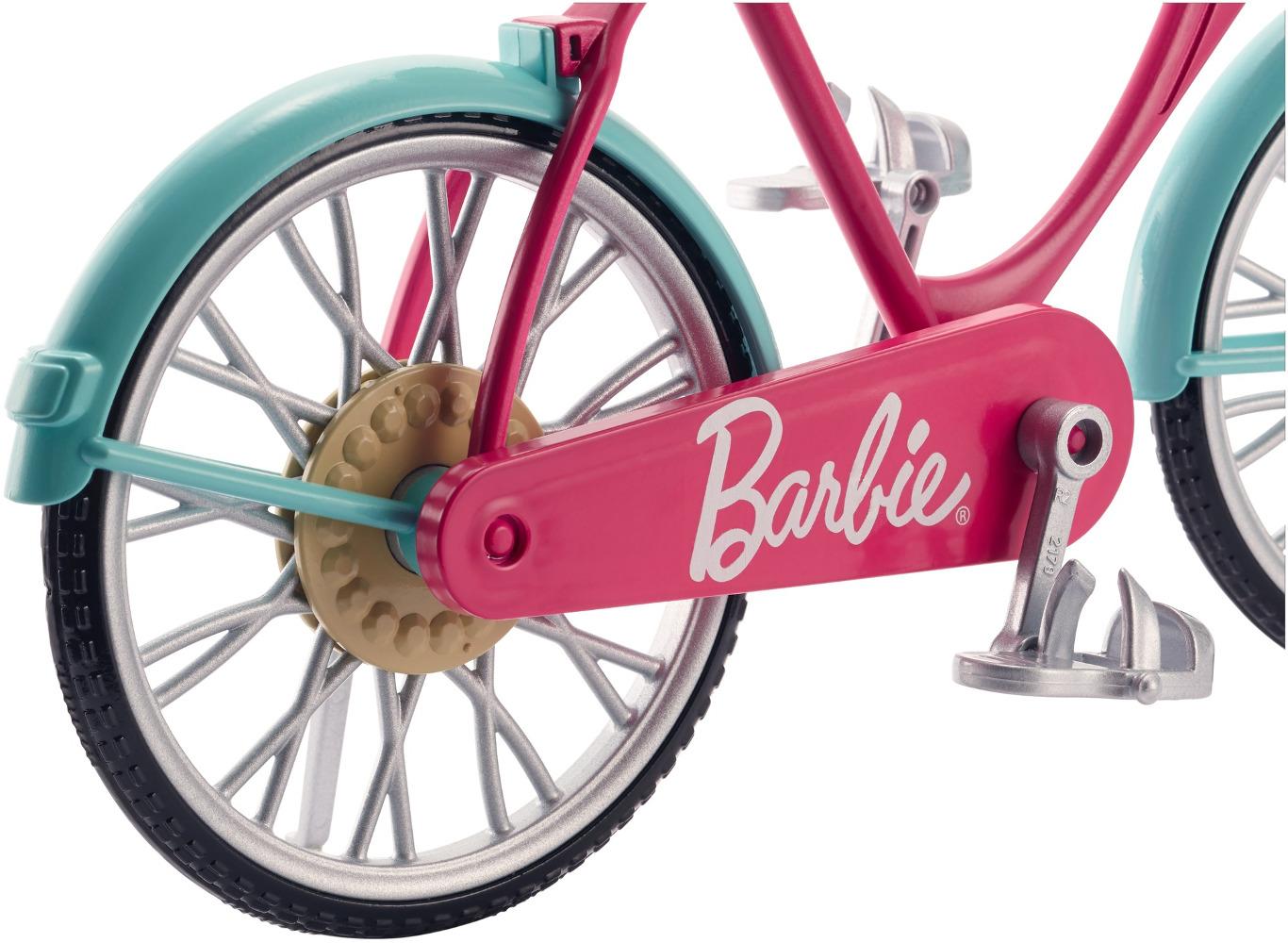 Велосипед Barbie