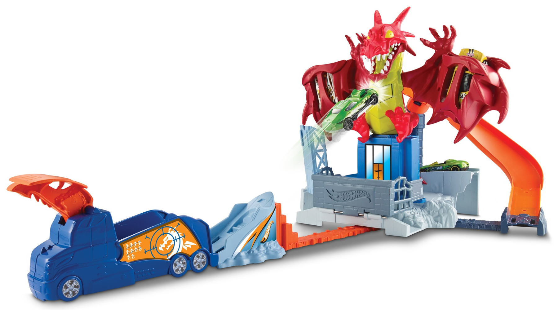 """Игровой набор """"Атака дракона"""" Hot Wheels"""