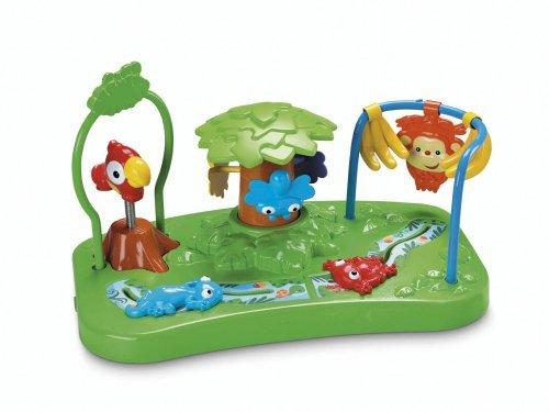 Детский стульчик-бустер Джунгли, стульчик для кормления Fisher-Price Booster Seat, Rainforest