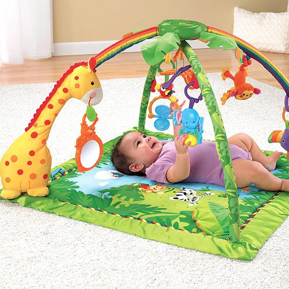 Детский развивающий коврик Fisher-Price «Джунгли» (Тропический лес) Rainforest