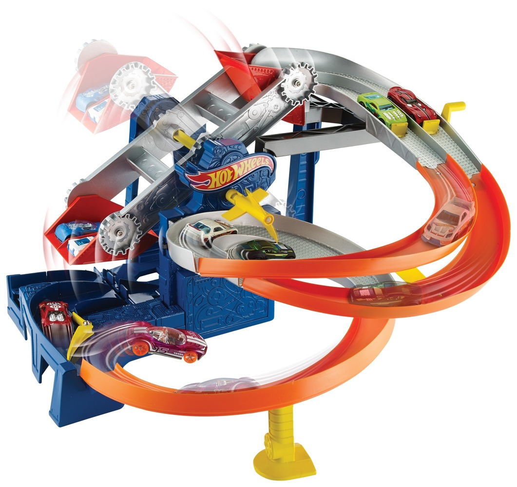 """Игровой набор """"Гонки на фабрике"""" Hot Wheels"""
