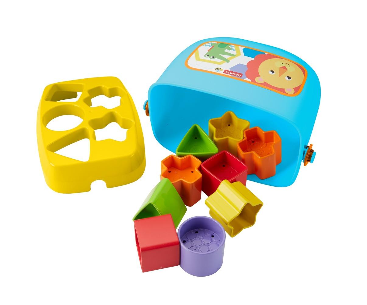 "Ведерко с кубиками ""Яркое"" Fisher-Price"