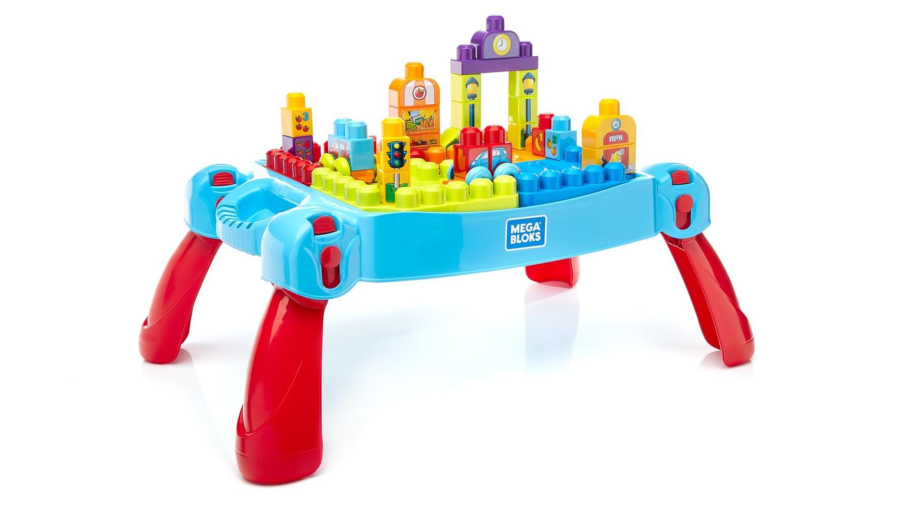 "Конструктор ""Развивающий столик"" обновл. Mega Bloks"