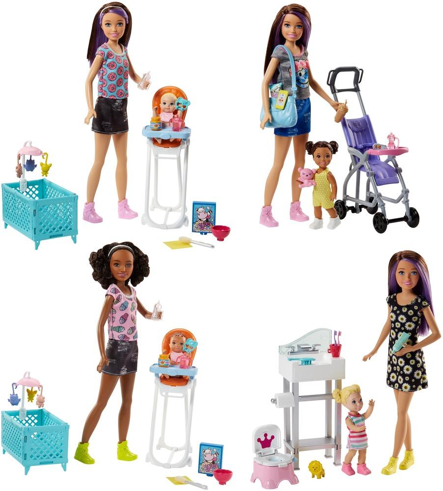"Набор Barbie ""Забота"" серии ""Уход за малышами"", в ас.(3)"