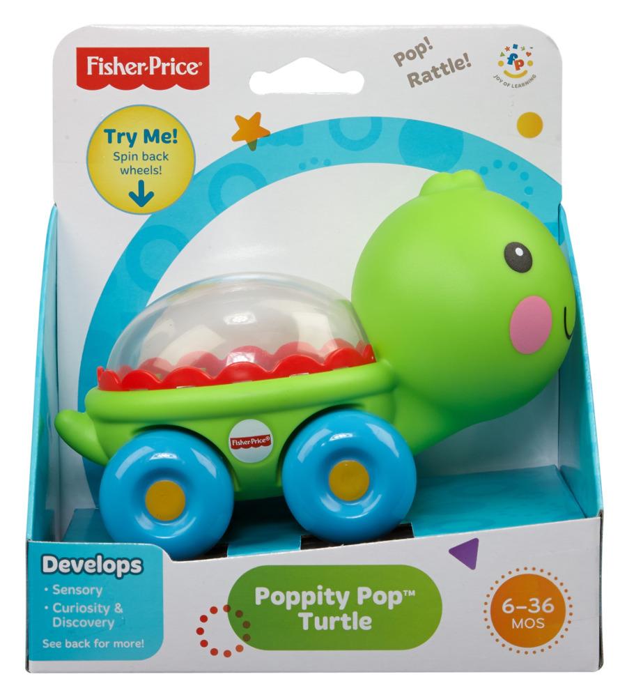 Черепашка/Бегемотик с шариками Fisher-Price