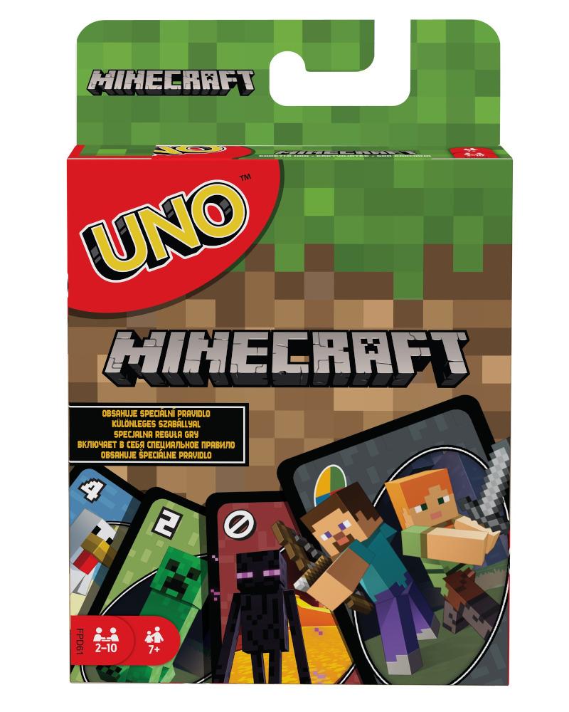 """Настольная игра UNO """"Minecraft"""""""
