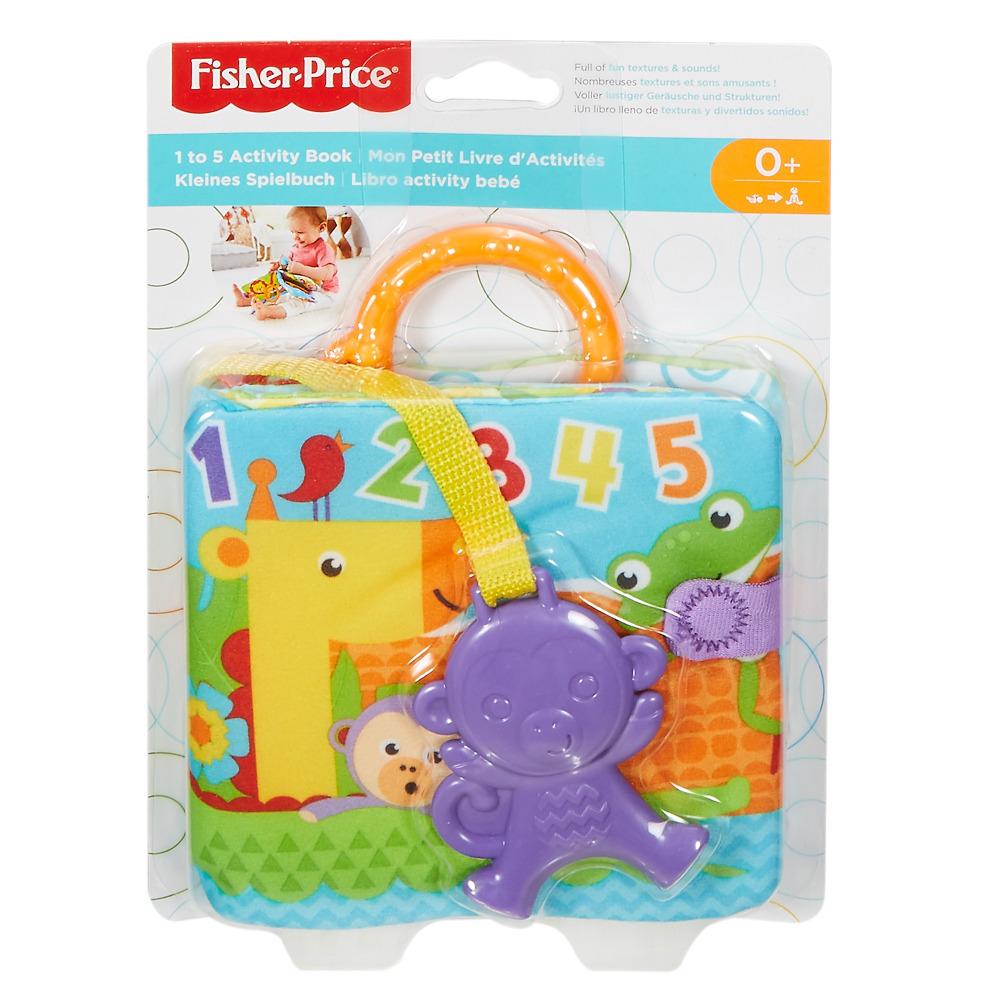 Мягкая книжечка-подвеска Fisher-Price