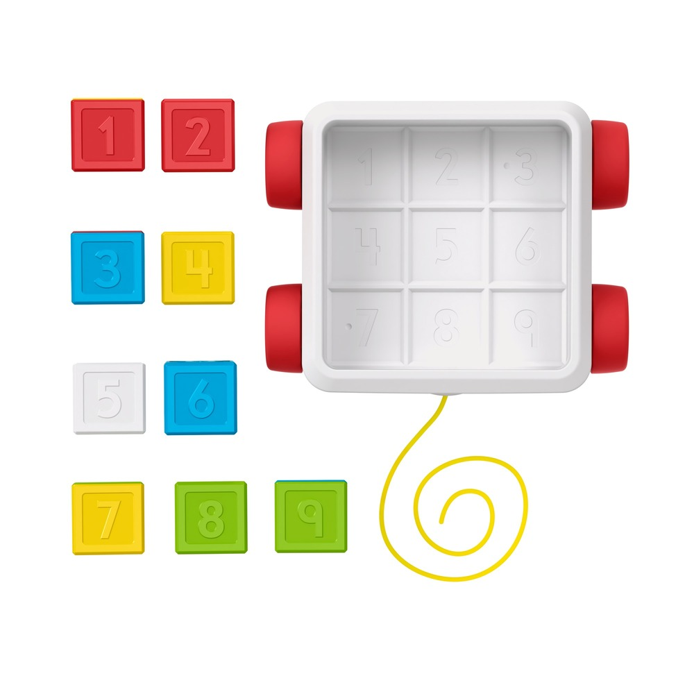 "Игрушка-каталка ""Яркие кубики"" Fisher-Price"