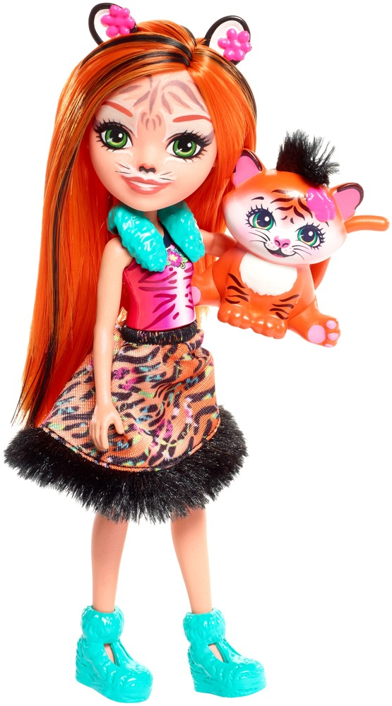 "Кукла Enchantimals ""Тигренок Тензи"""