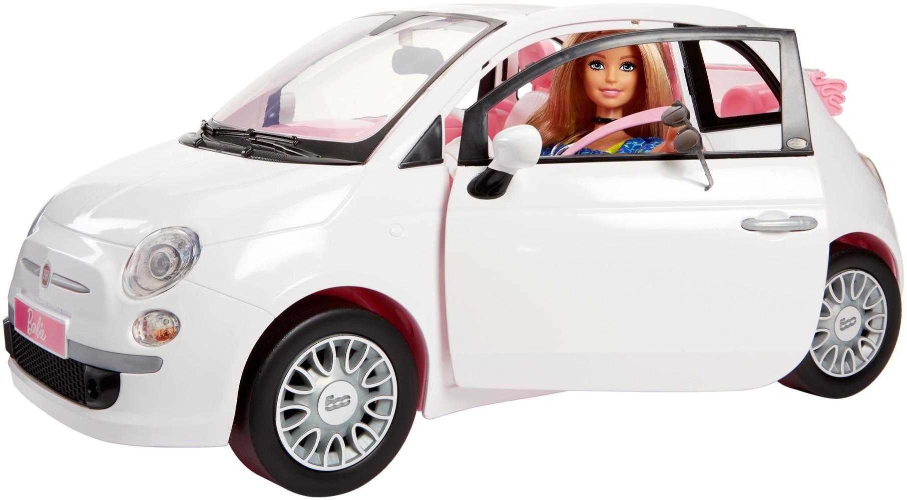 """Набор с куклой Barbie """"Фиат"""""""
