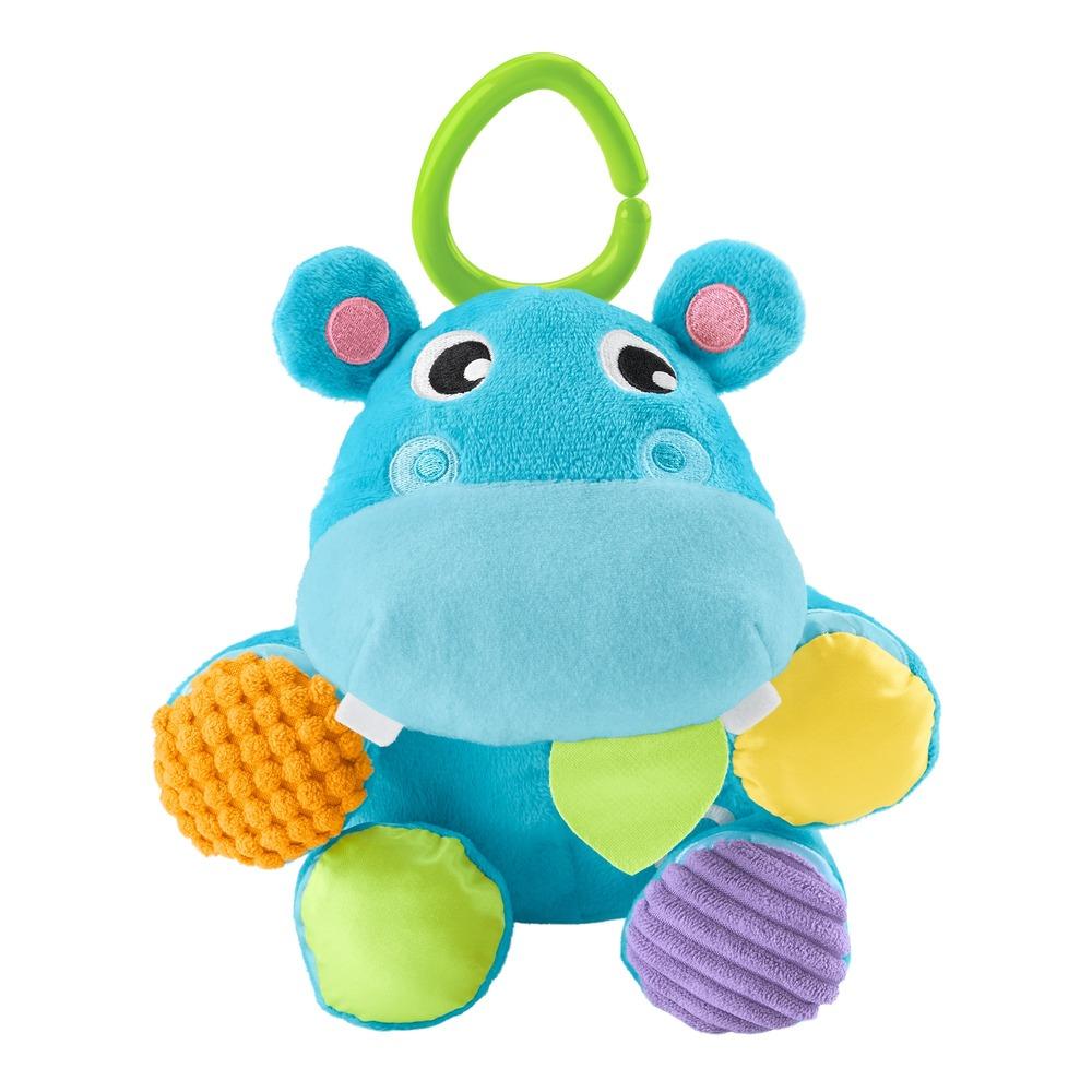 """Мягкая игрушка-подвеска """"Бегемотик-мячик"""" Fisher-Price"""