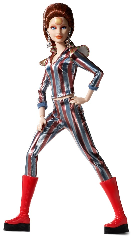 Коллекционная кукла Barbie Х Девид Боуи