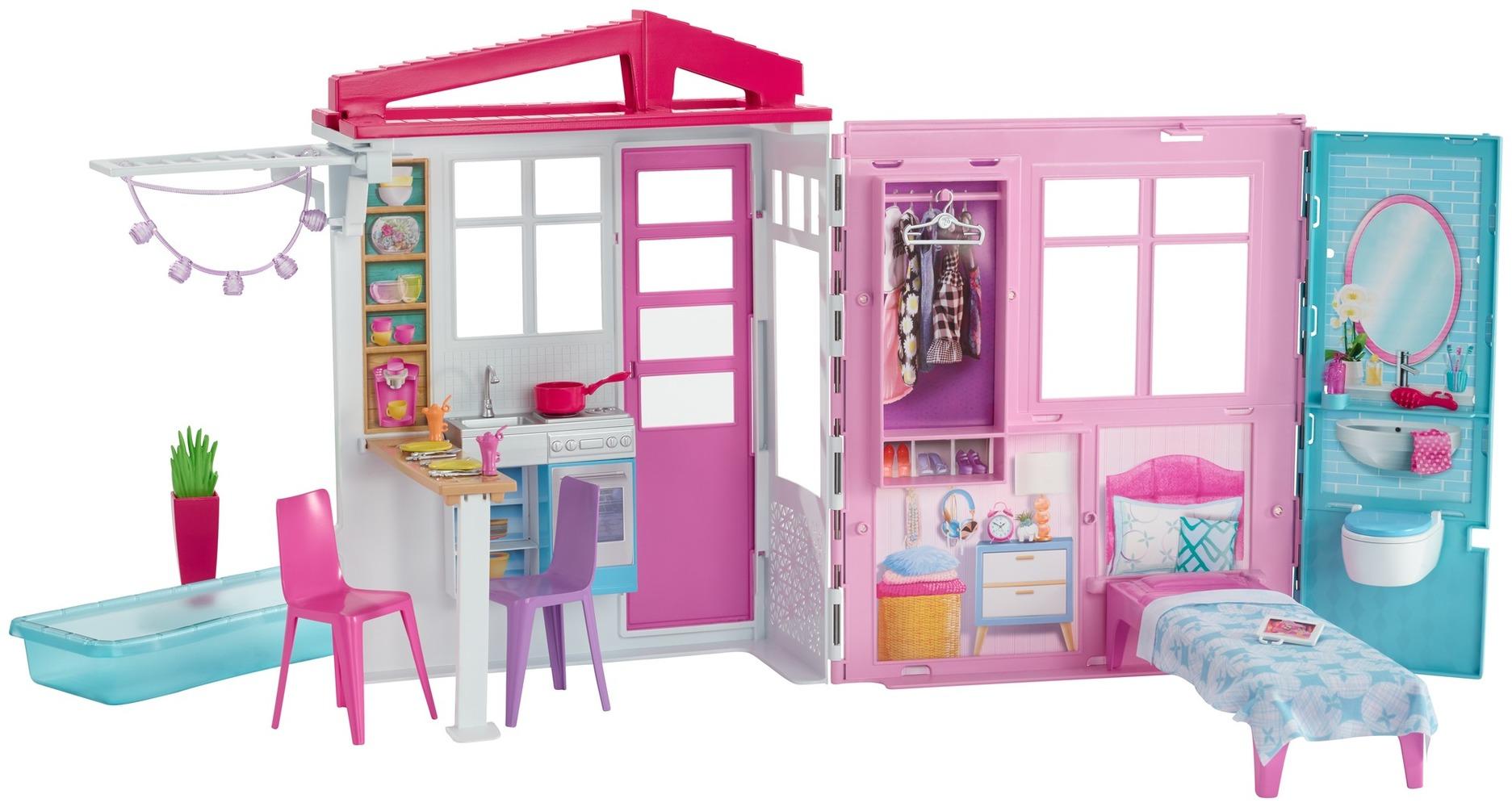 Портативный домик Barbie