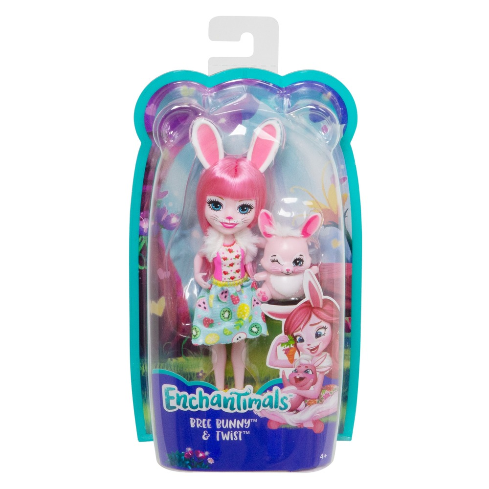 "Кукла Enchantimals ""Кролик Бри"" обновл."