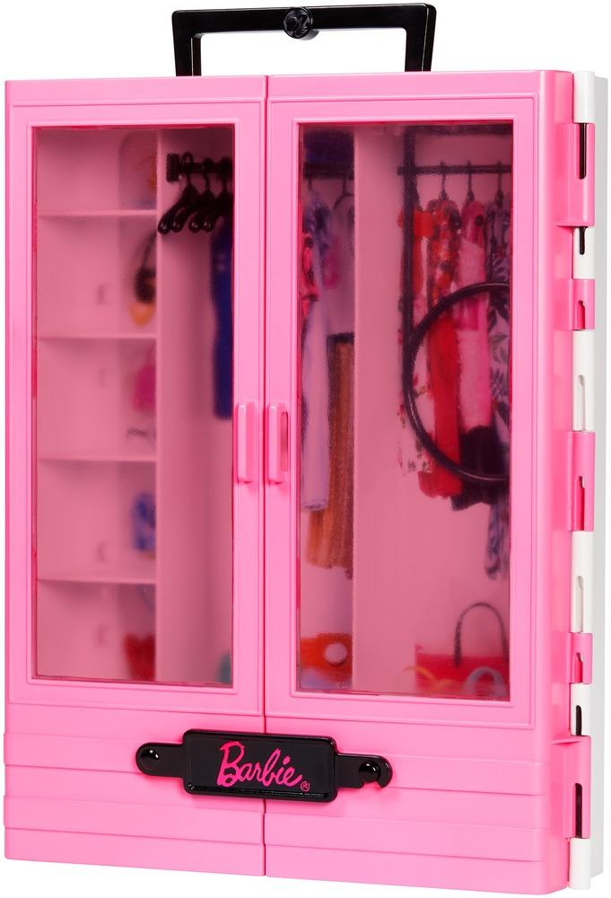 Розовый шкаф Barbie