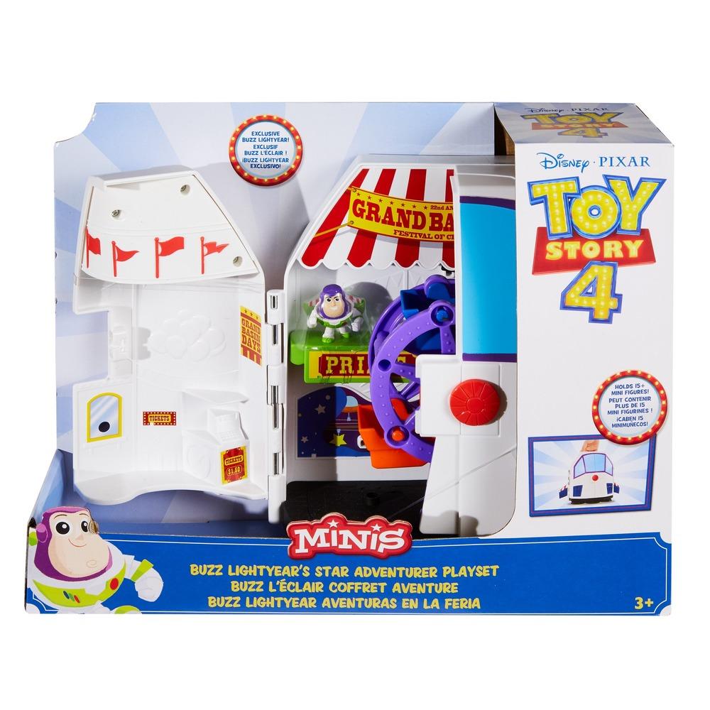 """Игровой набор """"Звездные приключения"""" для хранения коллекционных мини-фигурок из м/ф """"История игрушек 4"""""""