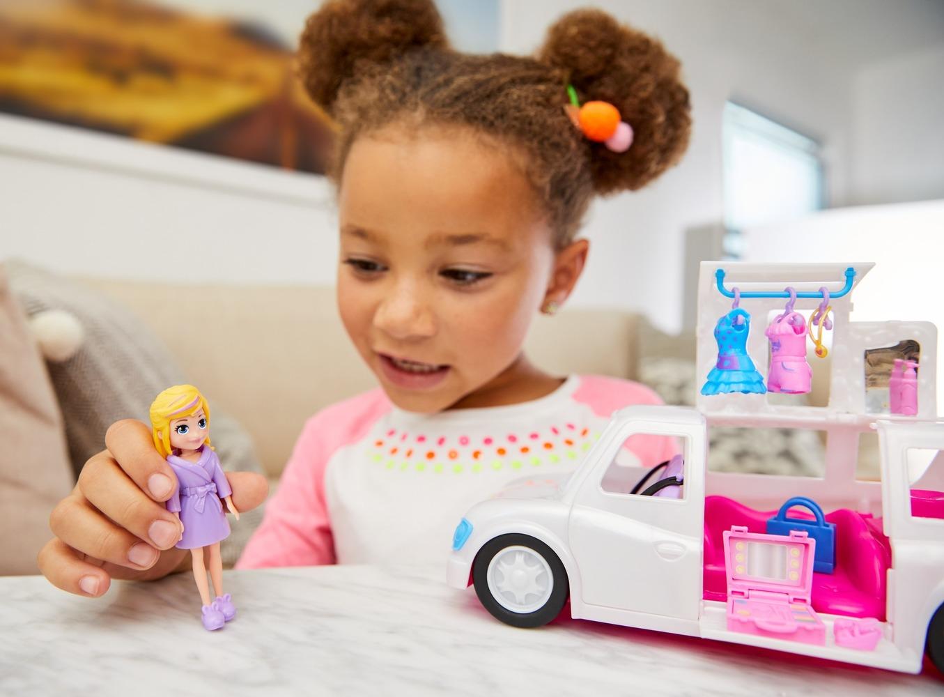 "Набор ""Кукла с транспортом"" Polly Pocket"