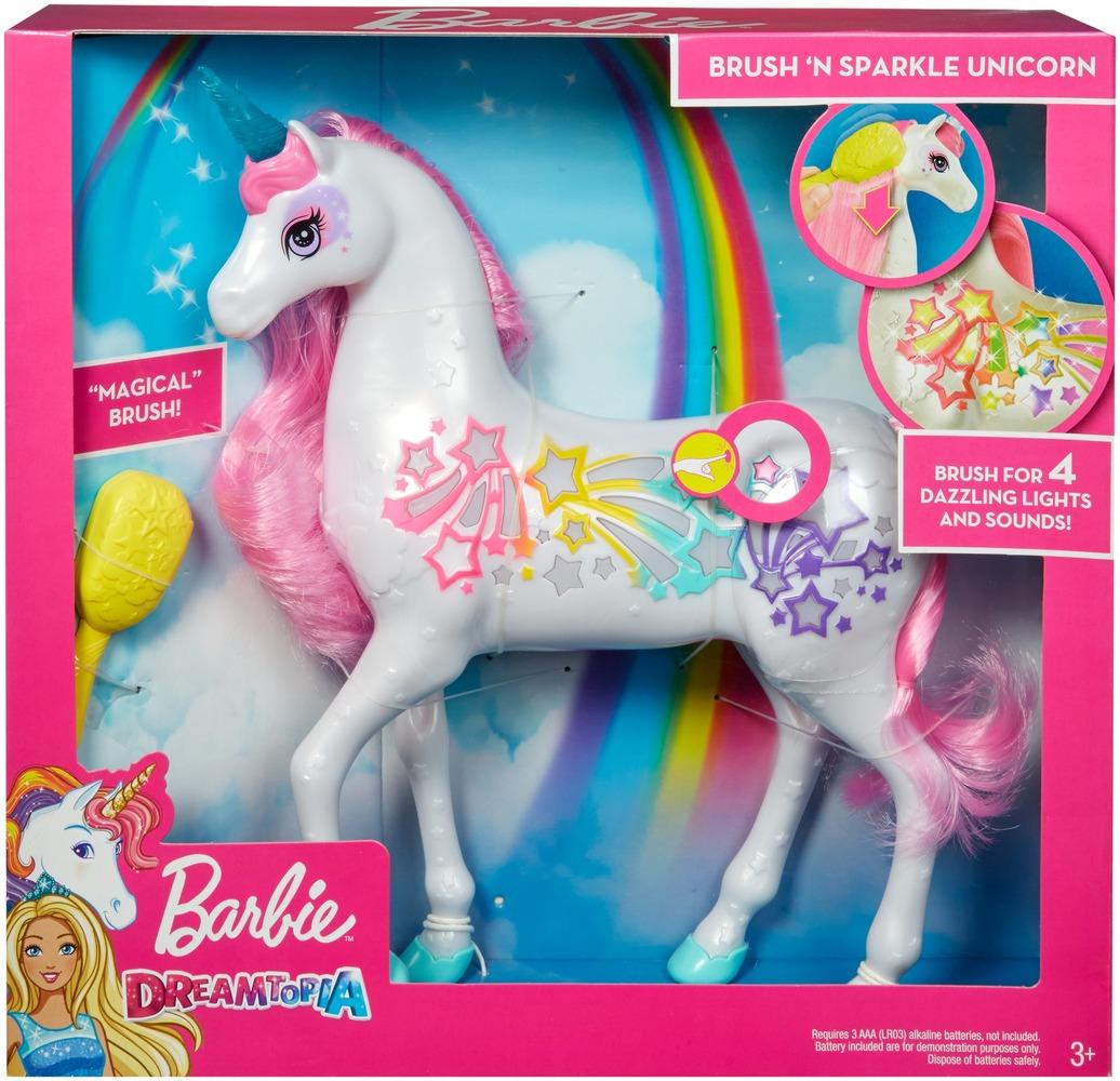 Мерцающий единорог Barbie