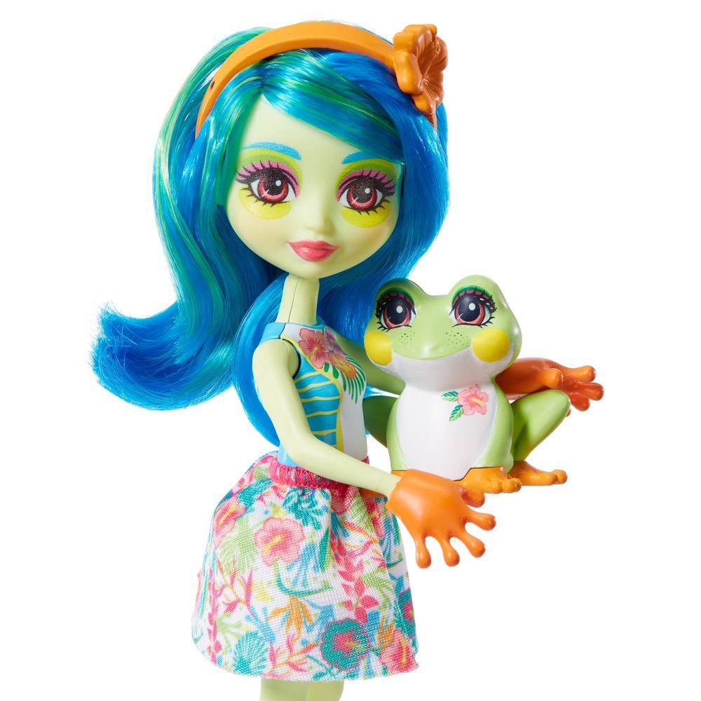 """Кукла Enchantimals """"Жабка Тамика"""""""