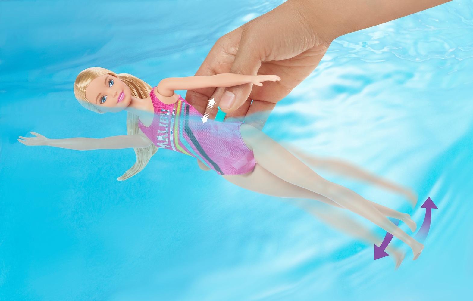 """Игровой набор """"Тренировка в бассейне"""" Barbie"""