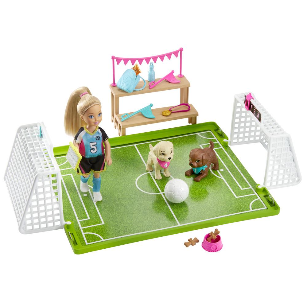 """Игровой набор """"Футбольная команда Челси"""" Barbie"""