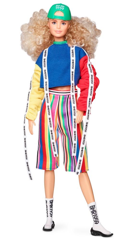 """Коллекционная кукла """"BMR 1959"""" кучерявая блондинка Barbie"""