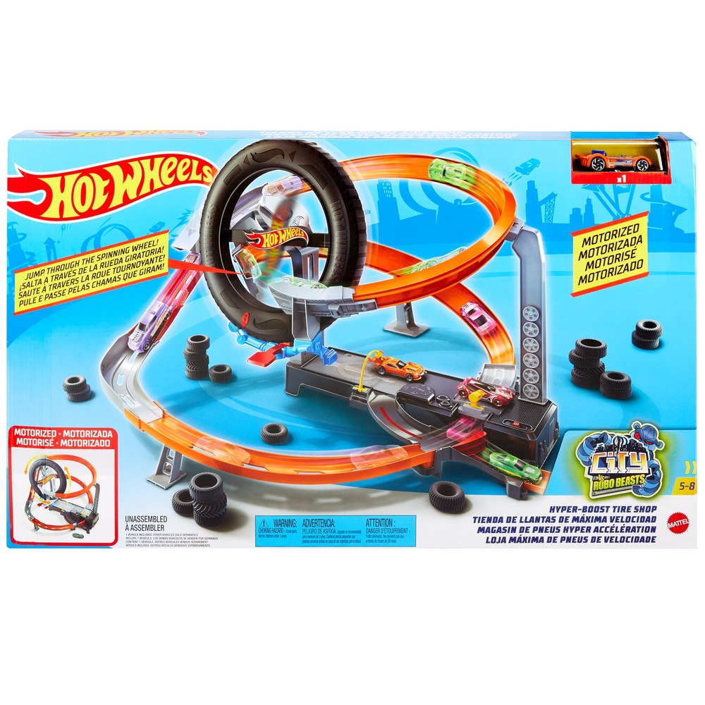 """Игровой набор """"Гонки в шиномонтажной"""" Hot Wheels"""