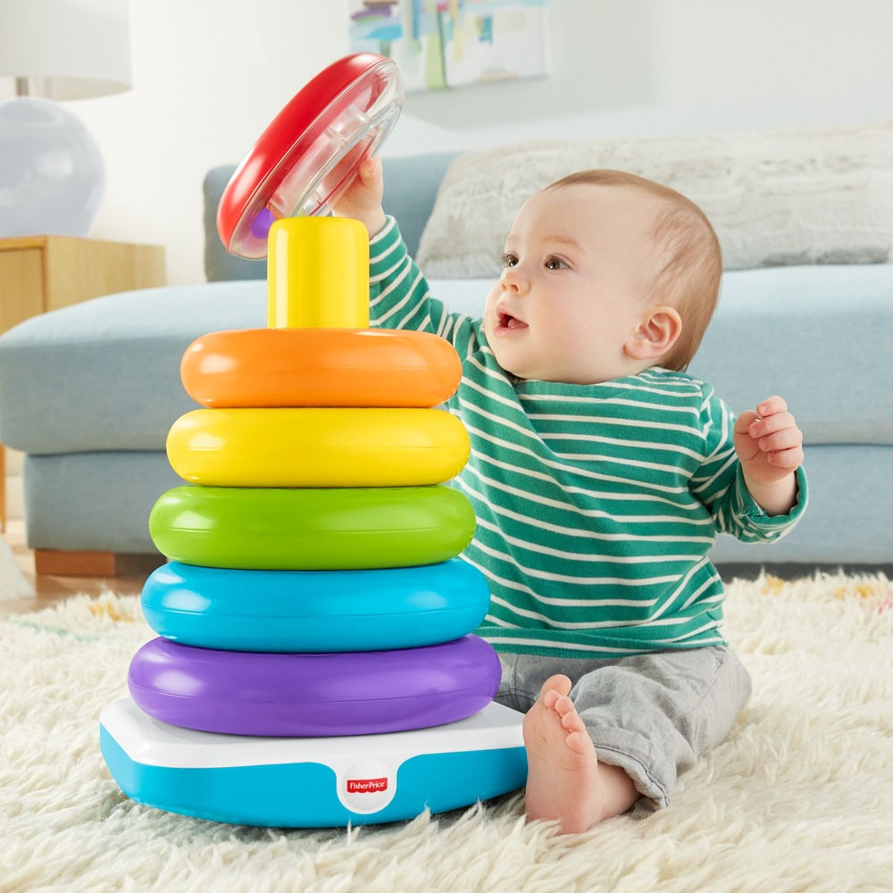 Большая пирамидка Fisher-Price
