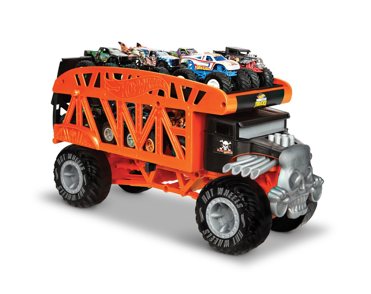 "Монстро-транспортер ""Bone Shaker"" серии ""Monster Trucks"" Hot Wheels"