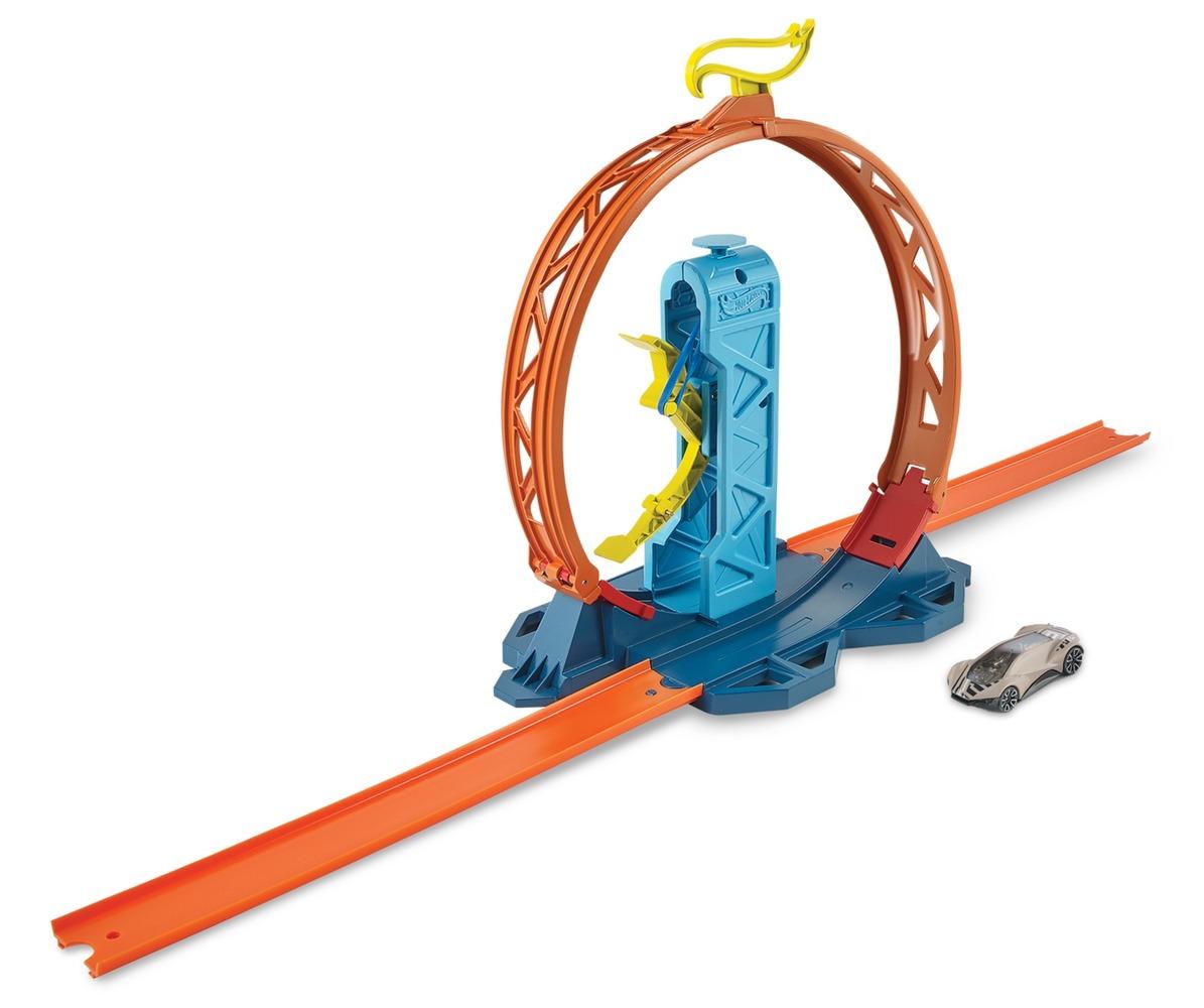 Набор элементов для постройки трека Hot Wheels в асс.(7)