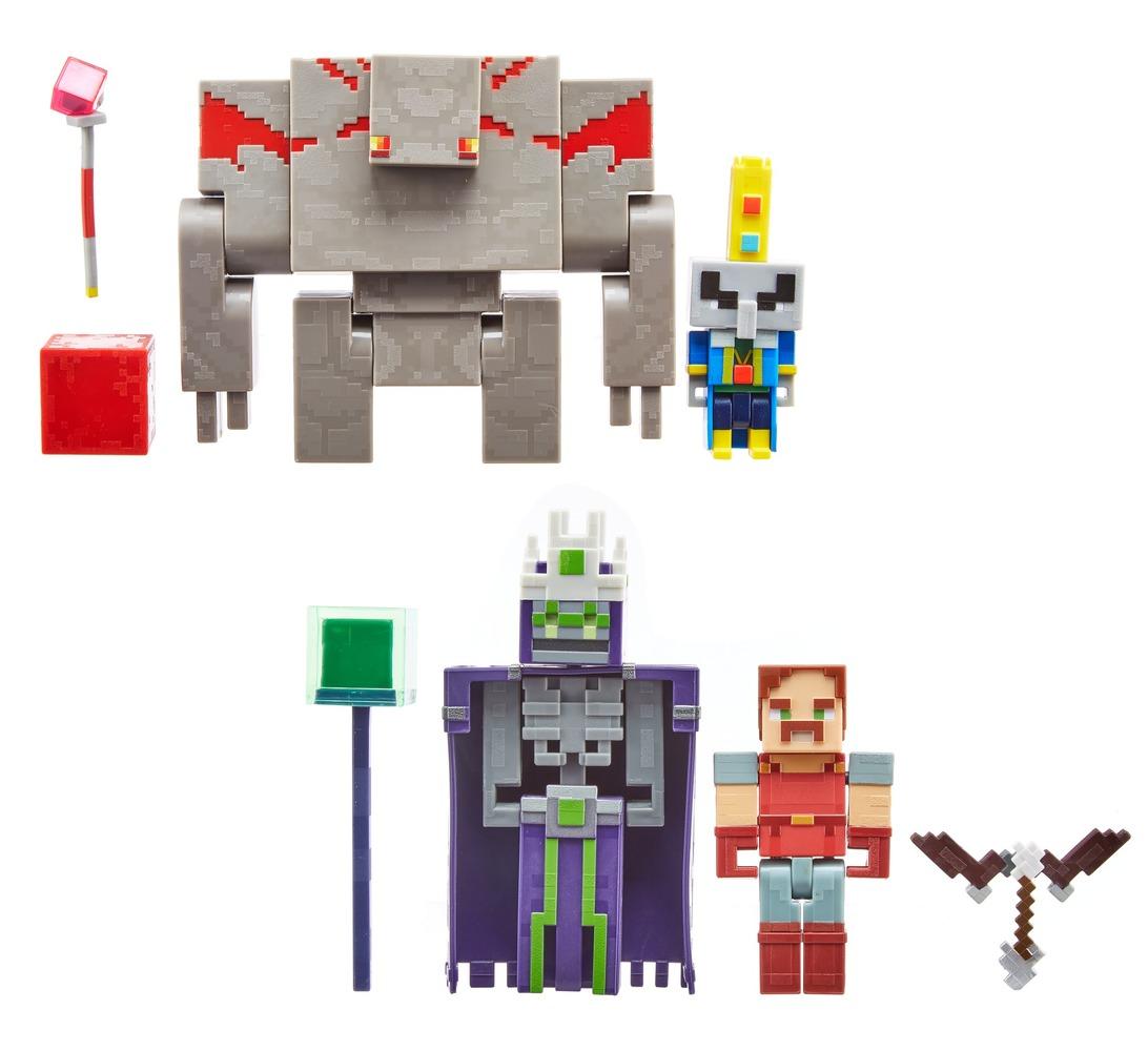 """Набор из 2 фигурок персонажей серии """"Dungeons"""" Minecraft в асс."""
