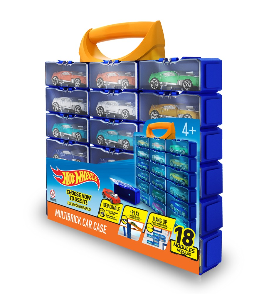 Контейнер на 18 машинок Hot Wheels